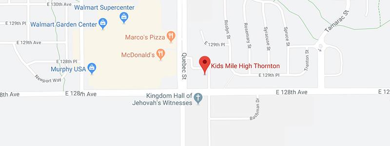 thornton kids dental office map
